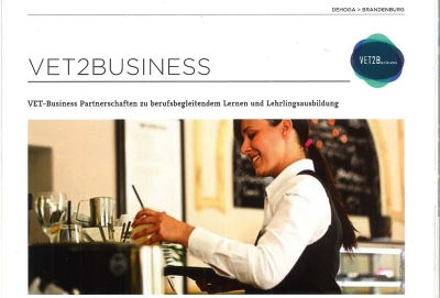 "VET2Business Project on ""GESTGEWERBE MAGAZIN"", the leading German magazine for Gastronomy and Hospitality!"