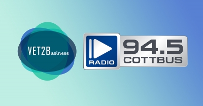 VET2BUSINESS Project presented on Radio Cottbus!